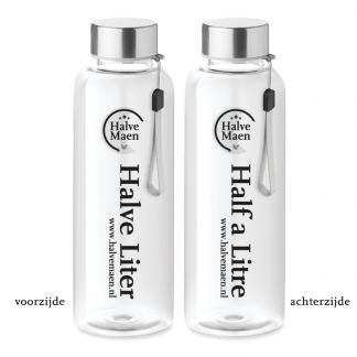 Waterfles 500ml Halve Liter special