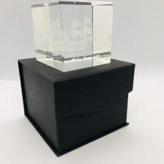 Presse Papier met Halve Maen in 3D